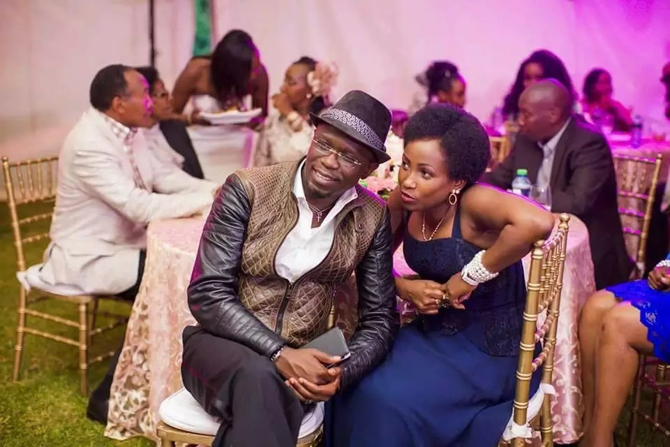 Amidst his political storms, Ababu Namwamba puts the best message to his wife