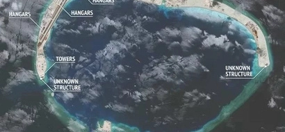 China constructs hangars in West PH Sea