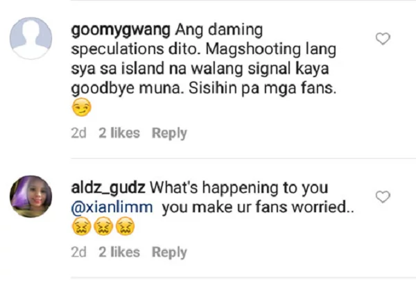 """Goodbye for now"": Xian Lim Puzzles Fans With Cryptic IG Post"