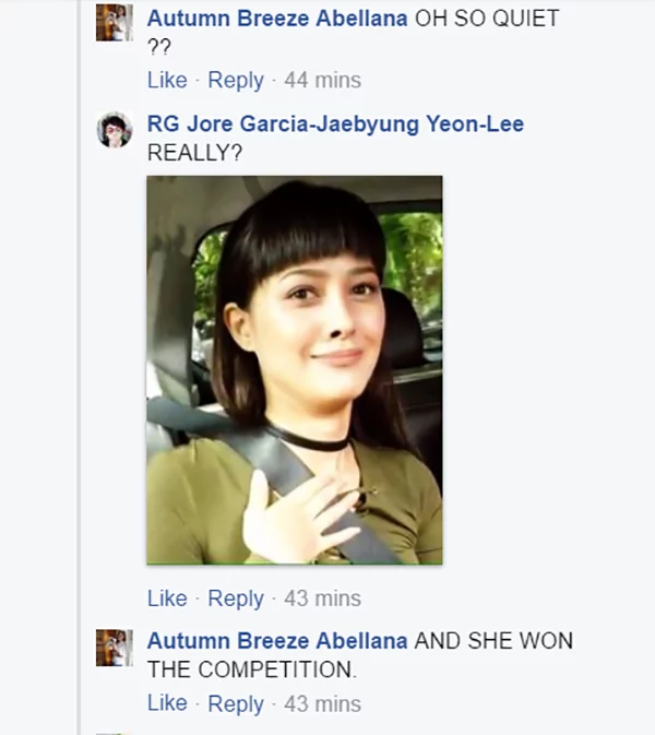 Huwag Ganun! Maureen Wroblewitz won because Pia Wurtzbach is one of the judges according to some netizens