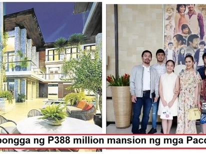 Nakakalula sa ganda at laki! A glimpse inside the lavish PHP388 million mansion of Manny and Jinkee Pacquiao