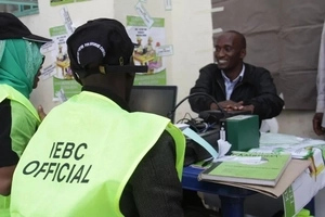 This is the number of Kenyans who have registered as new voters so far