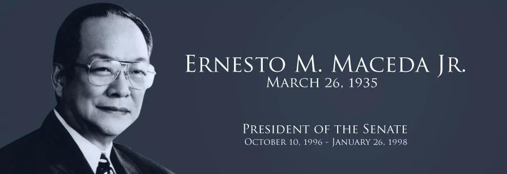 Ex-Senate President Maceda dies