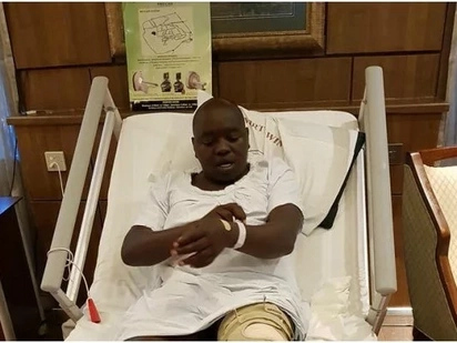 Jubilee Senator goes under the knife 4 years after sustaining injuries following political violence