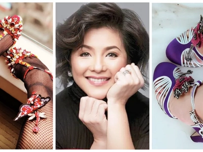 Ang bongga ng mga sapatos niya! Regine Velasquez shares unique and eccentric shoe collection on Instagram