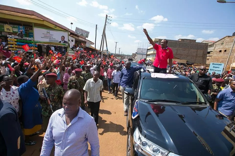 Uhuru's warning to rogue NASA supporters in planned anti-IEBC protests