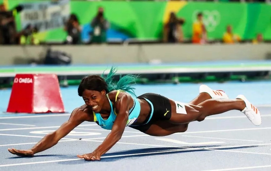 This neat move might have won her an Olympic gold medal!