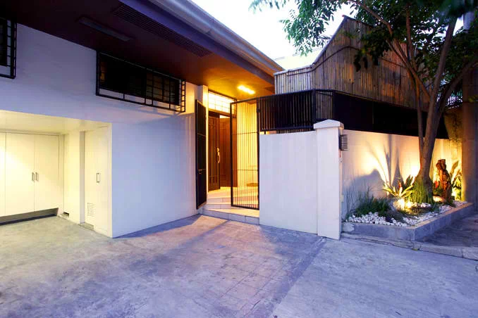 Iza Calzado's modern eclectic Filipino-style home in QC