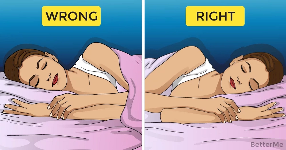 3 reasons why you should sleep on your left side