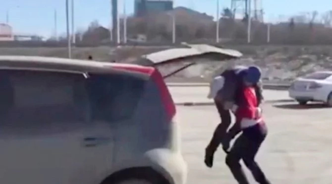 When He Crossed This Woman In The Parking Lot, He Could Not Imagine What She Would Do...