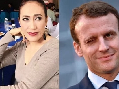 What does Ai Ai delas Alas have in common with the incoming French president? Find out here!