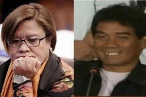 Sinalat ko lang! Dayan admits caressing De Lima's moneybags
