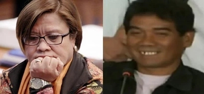 Sinalat ko lang! Dayan admits caressing De Lima's moneybags