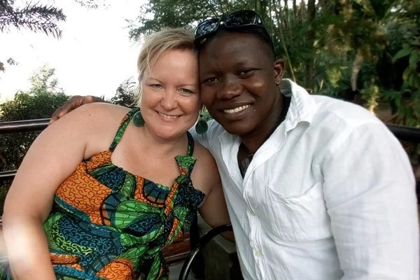 Swahn and Kate have shared their romantic story. Photo: Daily Monitor