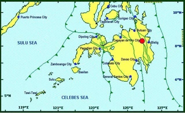 6.0-magnitude earthquake hits regions in Mindanao