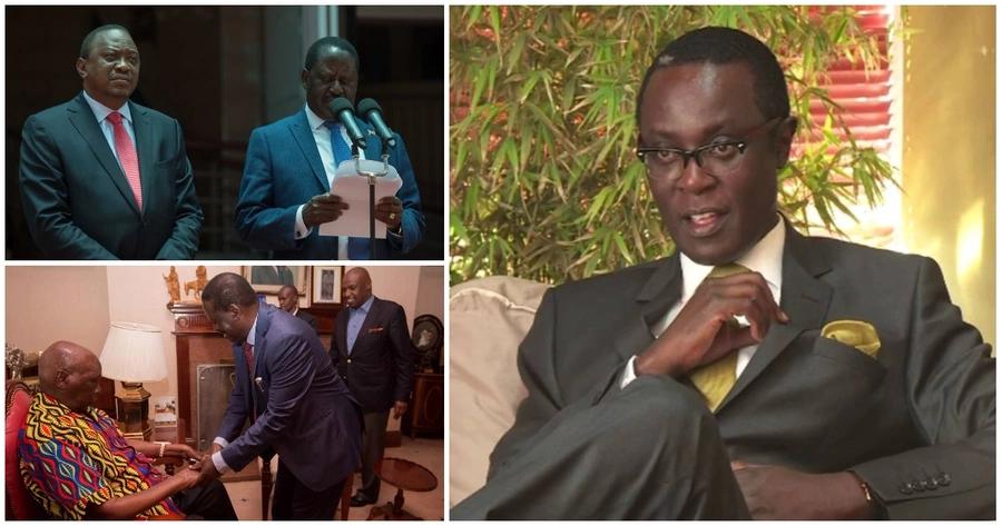 Expect Raila visit Kibaki next after meeting Moi, Uhuru - Mutahi Ngunyi