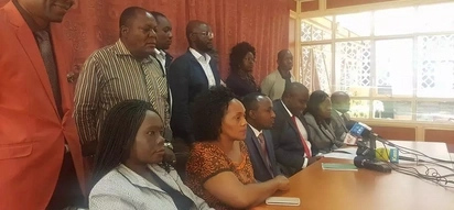 NASA is not forcing MPs to sign affidavit supporting Raila's swearing-in - Gladys Wanga