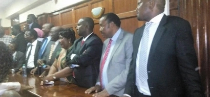 See the eight CORD, Jubilee MPs to be held in police cells for four days
