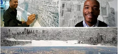 Genius! Meet autistic artist who can draw entire landscape from SINGLE glance (photos, video)