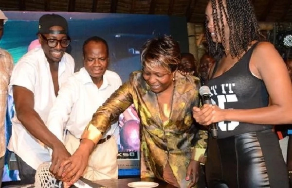 Former deputy chief justice Nancy Baraza shows her dance moves during son's birthday (video)