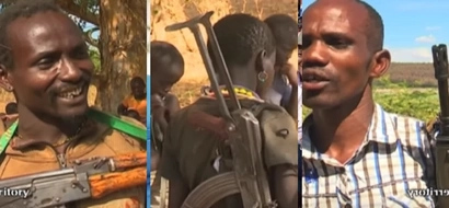 Chilling video of Pokot bandits vowing to kill more people in Baringo after KDF was deployed