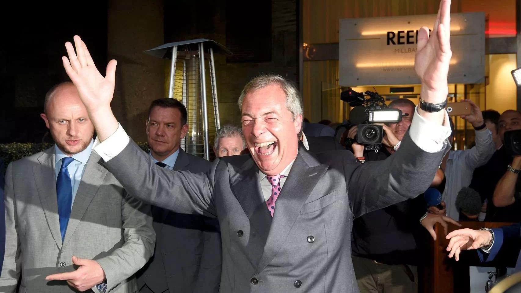 El Reino Unido abandona la Unión Europea tras votar por el SÍ en el referéndum de ayer
