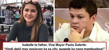 Isabelle Duterte, nilabas baho ng pamilya nila! Presidential granddaughter accuses father, Vice Mayor Pulong Duterte of abusing his position and power