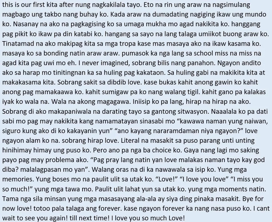 Sobrang nakakaiyak! Boyfriend's heartbreaking farewell letter to his girlfriend's untimely passing
