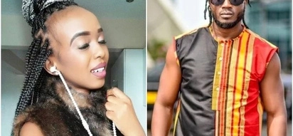 Sultry Kenyan singer accuses Uganda's legendary musician of STEALING her song