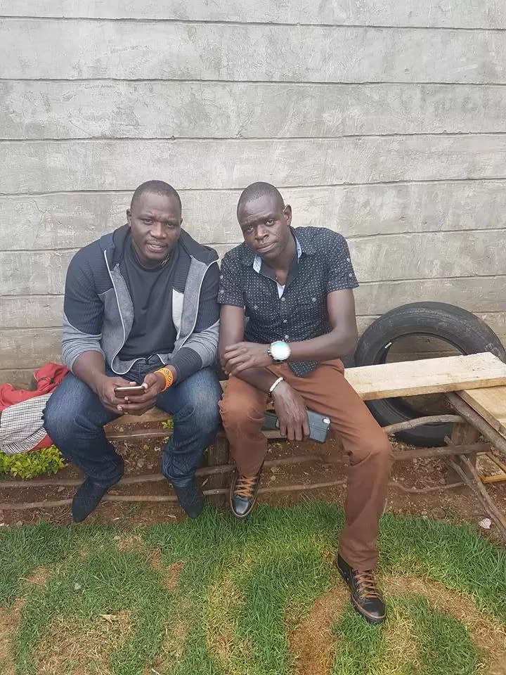 Meet Julius Yego after the horrific road accident (photos)