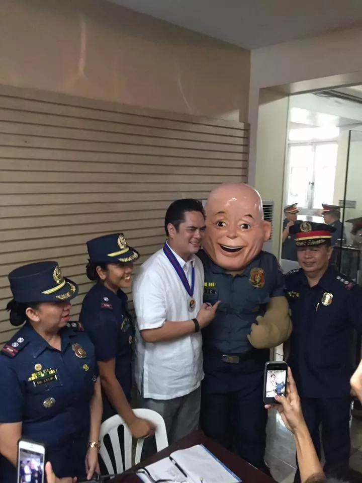 PNP introduces PO1 Bato mascot