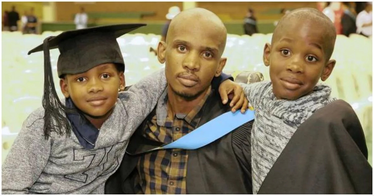 Inspiring! Former dope dealer paralysed from neck down defies odds to graduate with Bachelor's degree (photo)