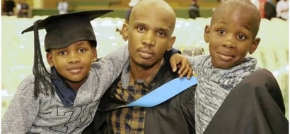Wow! Former drug dealer paralysed from the neck down graduates with bachelor degree (photo)