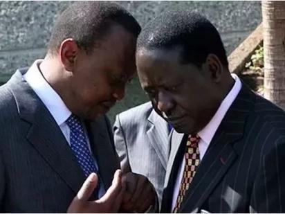 Uhuru apuzilia mbali dhana kwamba salamu yake na Raila ni kuhusu 2022