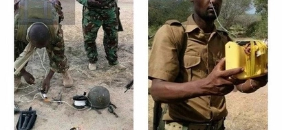 Kenyan police officers shoot dead al-Shabaab militant planting bomb, 5 arrested