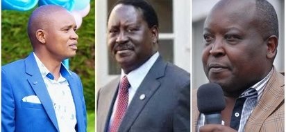 Jubilee leaders accuse Raila of breaking the law he has been advocating for