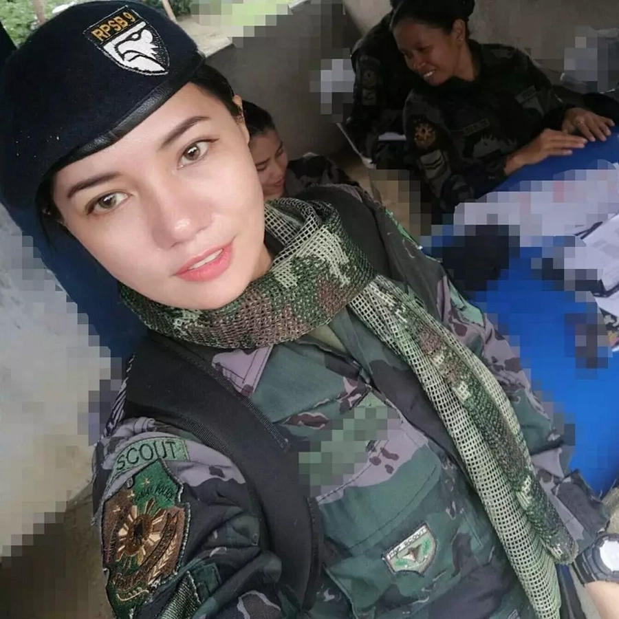 Get to know PO1 Jane Lee; Stunning policewoman from Zamboanga City