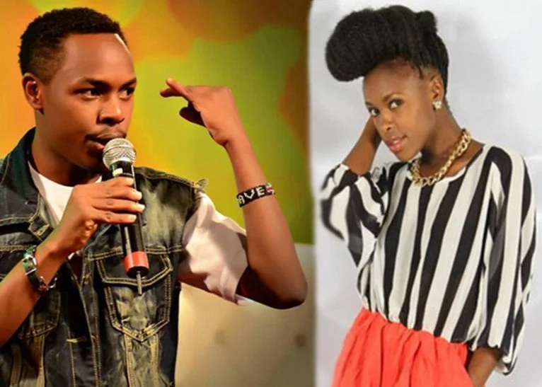 Is this popular Churchill show comedian responsible for Awinja's pregnancy? Here is the truth