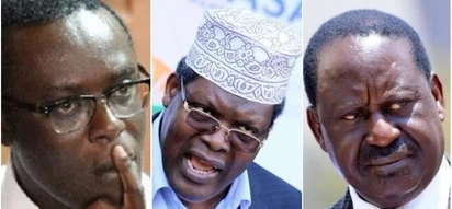 Raila is not happy - Mutahi Ngunyi tells Miguna Miguna