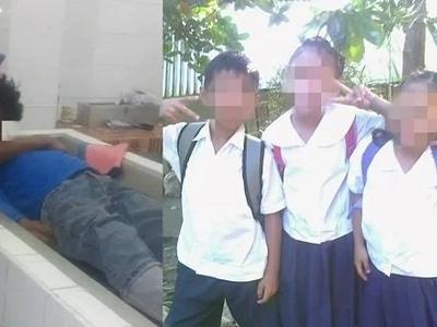 'Nananawagan ako sa ating Pangulo,' cries a woman after her father dies and leaves behind three young children