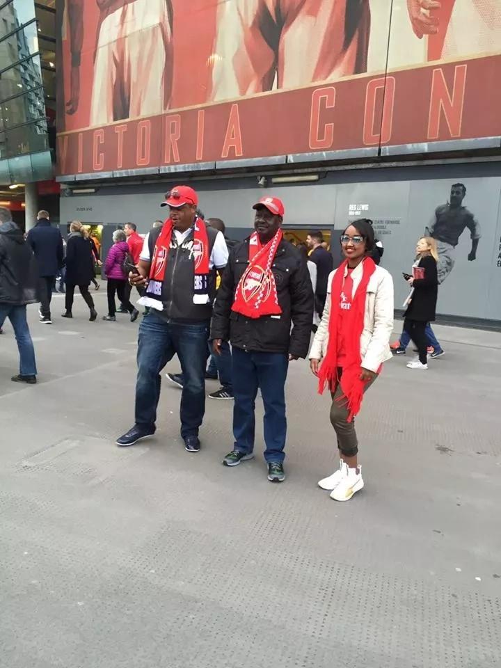 How Arsenal came to score Raila Odinga as a die-hard fan