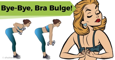 Get rid of bra bulge with 9 moves for upper back and laterals