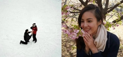 'Alyas Robin Hood' star Jade Lopez just got the most romantic proposal from her boyfriend in the middle of ice