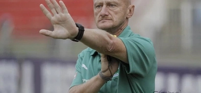 Kenya Premier League coach suspended for stripping on the pitch and F**k you gesture