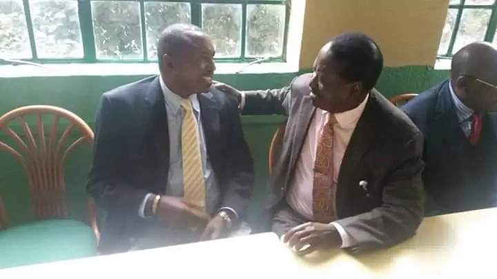 Raila and Moses Kuria bury the hatchet