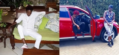 Comedian Eric Omondi stuns fans after stepping out wearing nothing