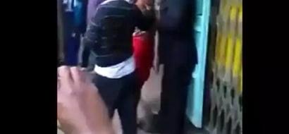 Mwanamke apigana na wanaume 2, sababu itakushangaza (video)