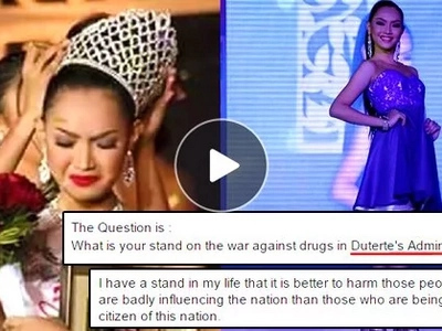Student's answer on Duterte's drug war wins her Ms. University Mindanao 2016