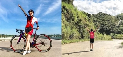 Kim Chiu bikes for 22km and runs for 3km before heading to work