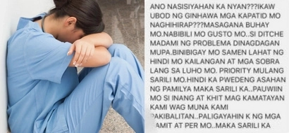 OFW shares how her family in the Philippines called her 'makasarili' for not buying them a car